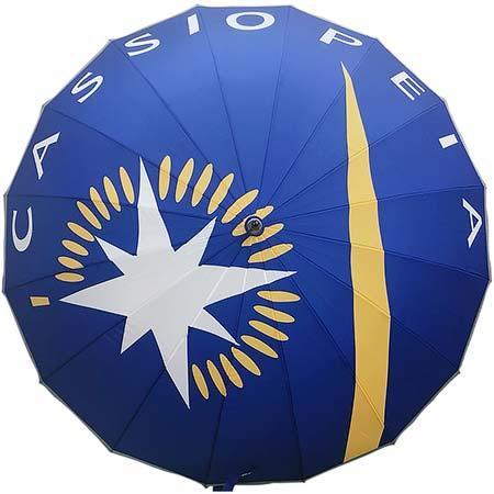 ポポンデッタ「ヘッドマークデザイン傘(カシオペア)」を発売