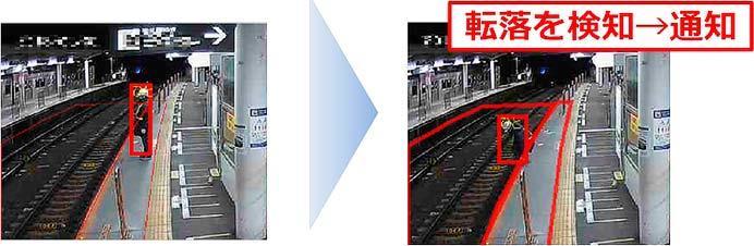 東急,駅構内カメラを活用した「転落検知支援システム」の運用開始
