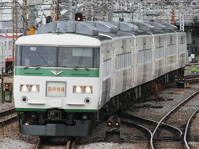 """快速""""山の日 谷川岳号"""",185系で運転"""