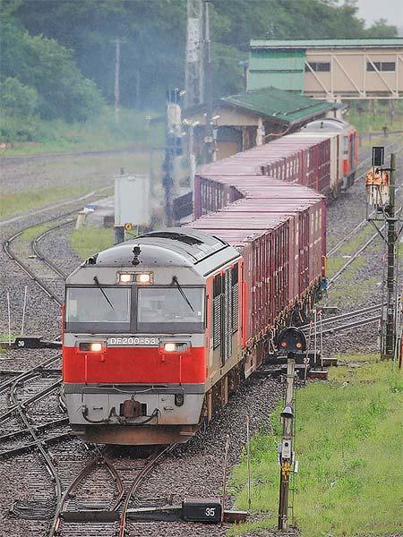 石北本線で貨物列車の運転開始