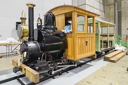 羅須地人鉄道協会の7号蒸機機関車