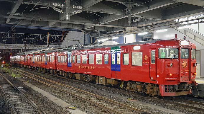 『第18回かごしま錦江湾サマーナイト大花火大会』にともない臨時普通列車運転