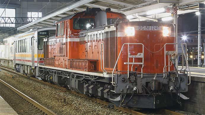 キハ120-354が後藤総合車両所から出場