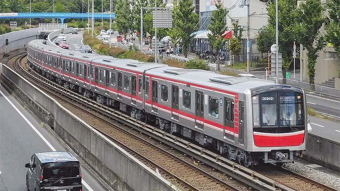 大阪メトロ御堂筋線用の30000系31610編成が営業運転を開始