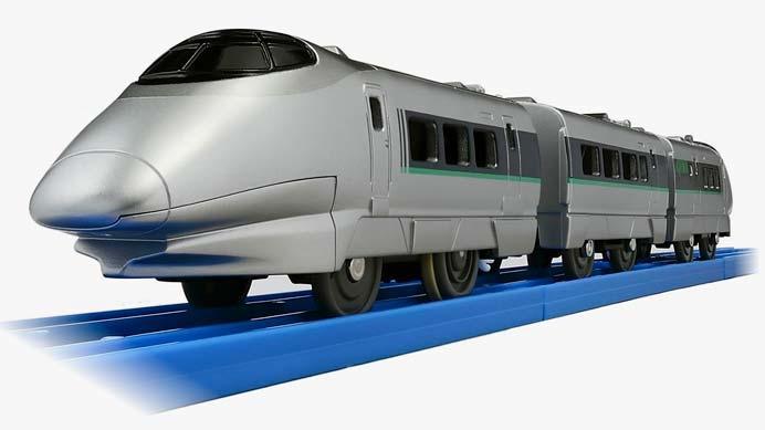 プラレール「ぼくもだいすき!たのしい列車シリーズ 400系新幹線(連結仕様)」発売