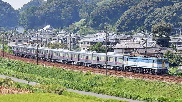 京成3000形3039編成が甲種輸送される