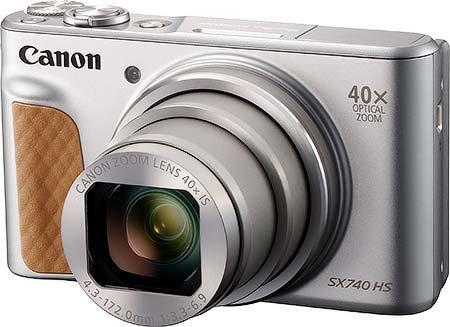 キヤノン「PowerShot SX740 HS」を8月30日に発売
