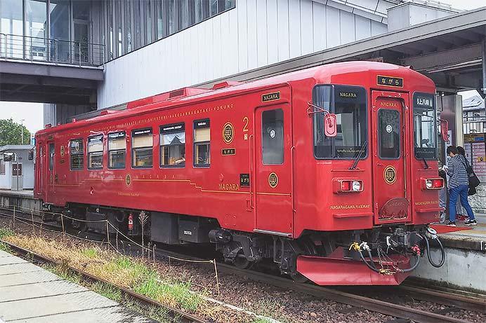 観光列車『ながら』が「あゆ」号のみで運転される