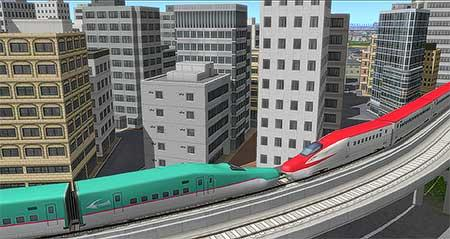 「列車の連結」のイメージ