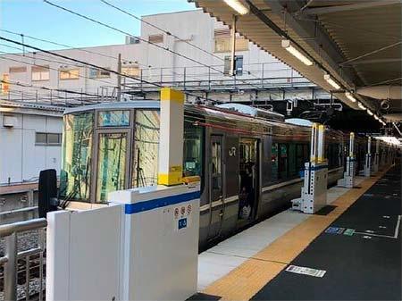 JR西日本,明石駅3・4のりばに昇降式ホーム柵を設置へ