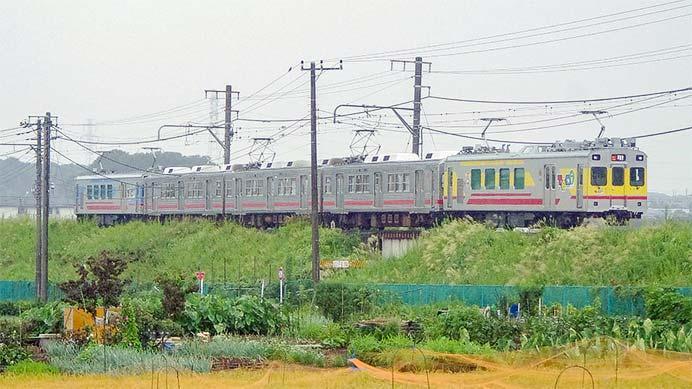 東急7700系7912編成が恩田へ