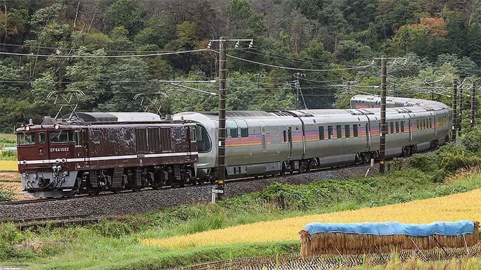 E26系が長野へ