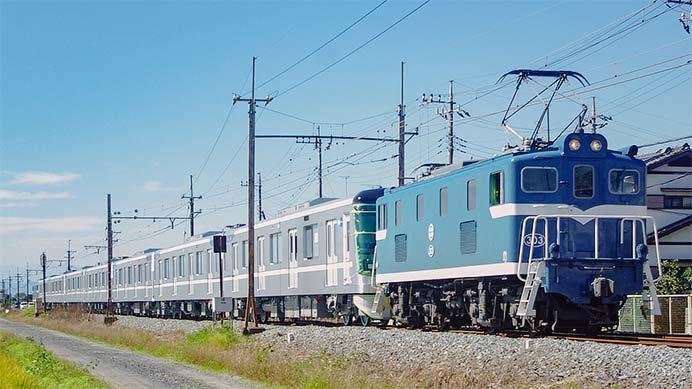 東京メトロ13000系第24編成が甲種輸送される