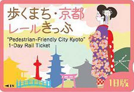 歩くまち・京都レールきっぷ(1日版)