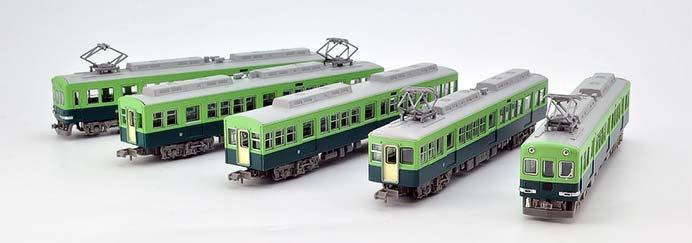 「京阪電車1900系(冷房改造後)5両セット」発売