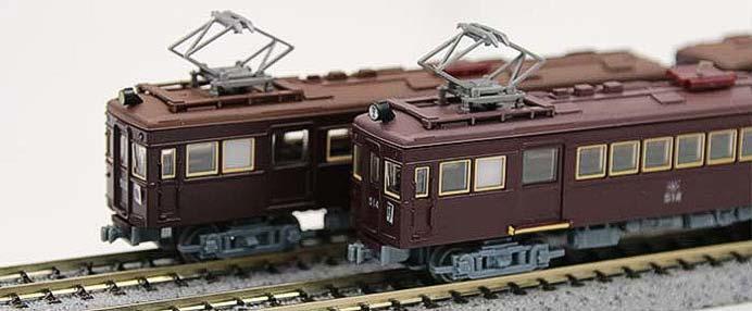 能勢電鉄創立110周年記念「鉄道コレクション500型」発売