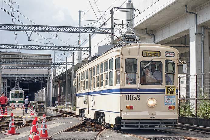 熊本市交通局で市電運転体験会開催