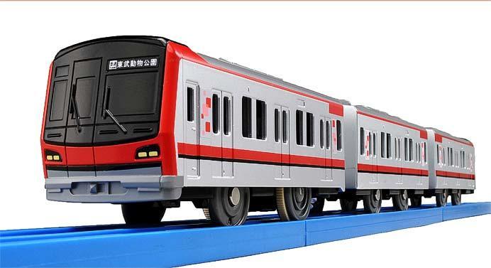 プラレール「ぼくもだいすき!たのしい列車シリーズ 東武70000系」発売