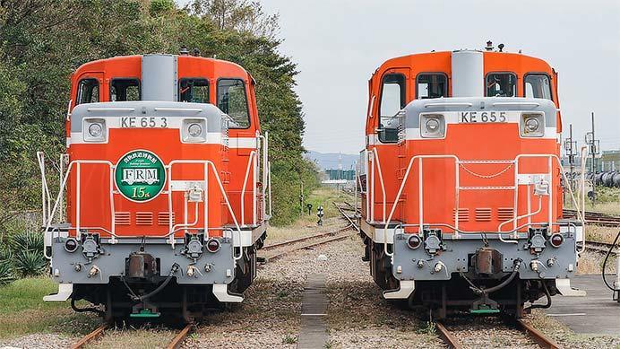 衣浦臨海鉄道で「鉄道の日」記念ヘッドマーク