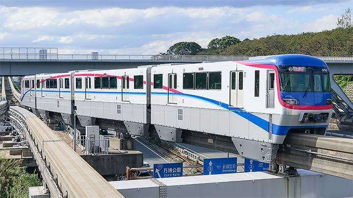 大阪モノレールで3000系の試乗会開催