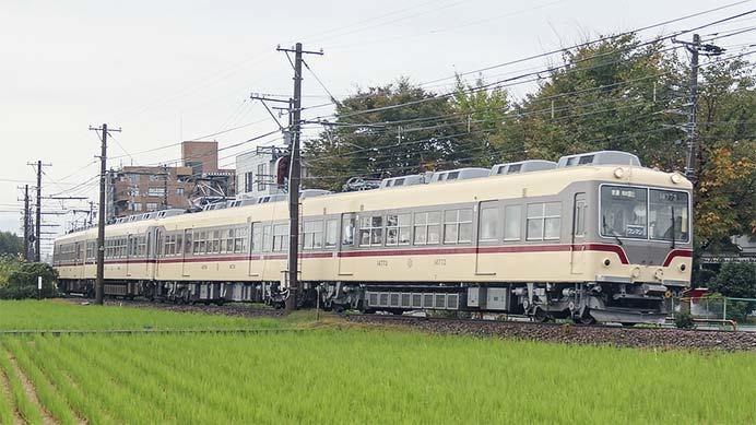 富山地鉄でモハ14760形の4連走る