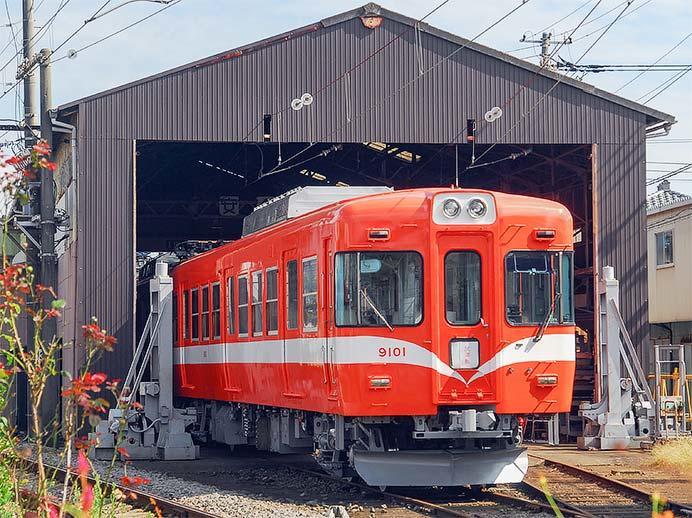 岳南電車,9000形を導入