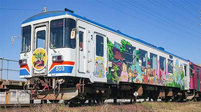 長良川鉄道でハロウィン列車運転