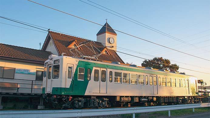 上信電鉄デハ205が単行で営業運転に充当される