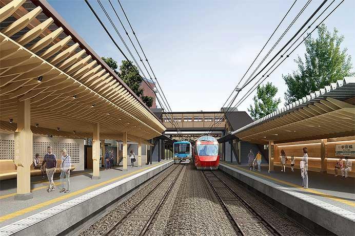 小田急,2018年11月から参宮橋駅の駅改良工事に着手