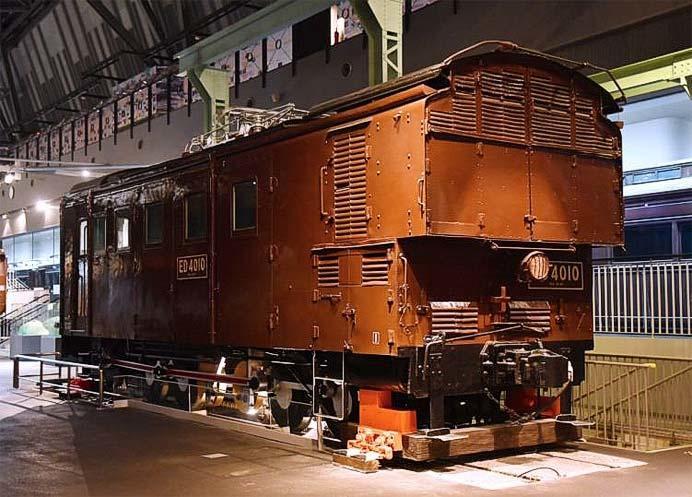鉄道博物館収蔵の電気機関車「ED40 10」が国の重要文化財に指定される