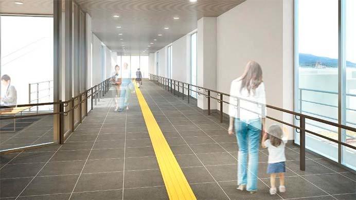 東北本線本宮駅で東西自由通路・橋上駅舎を新築