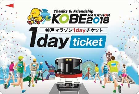 山陽電車,「第8回 神戸マラソン」に協賛して企画乗車券などを発売