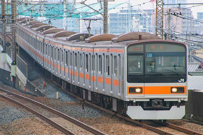 209系1000番台が豊田へ