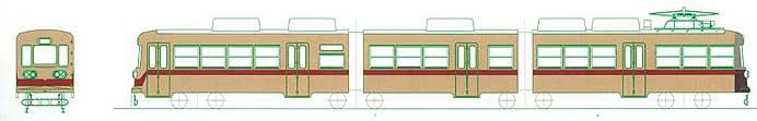 筑豊電鉄,「2000形2パターン同時塗装電車」を運転へ