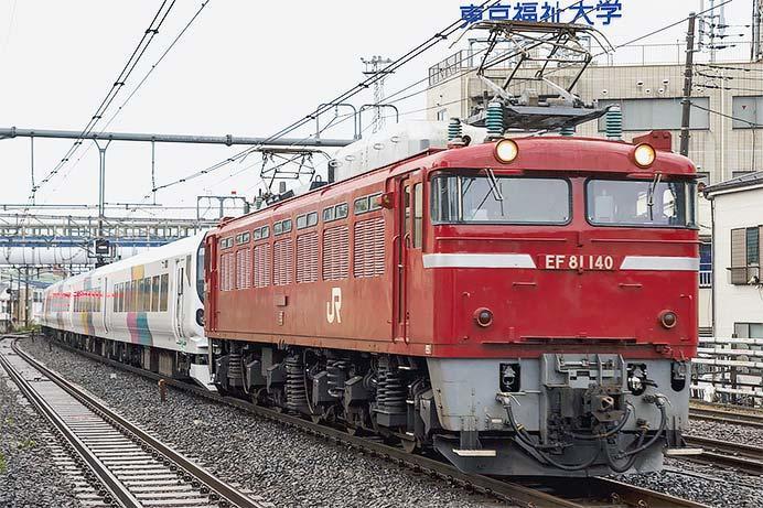 E257系モトM-103編成が秋田へ