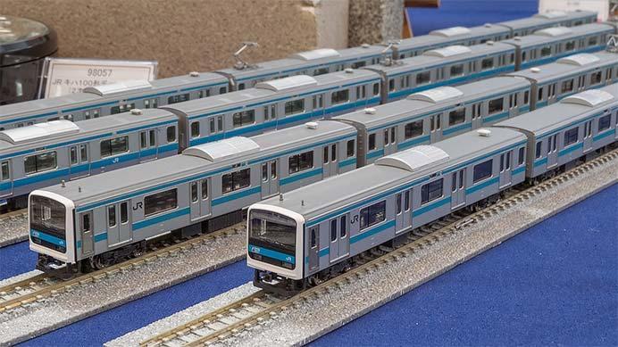 「限定品 JR 209 0系通勤電車(7次車・京浜東北線)セット」の試作品