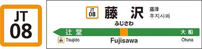 JR東日本,東海道本線藤沢—熱海間・伊東線に駅ナンバリングを拡大