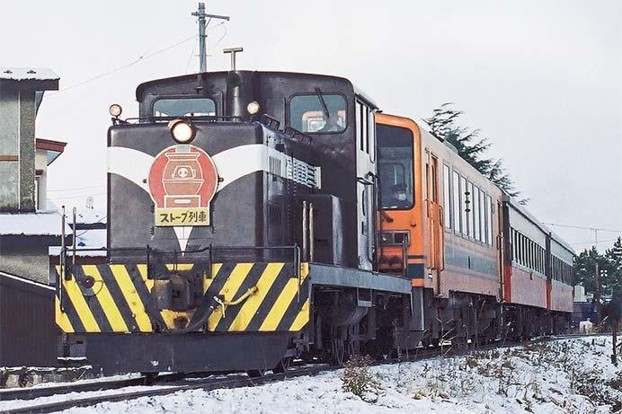 津軽鉄道で「冬のストーブ列車」の運転開始