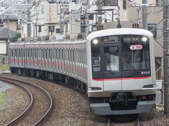 東上線で東京メトロ7000系・東急5050系による試運転