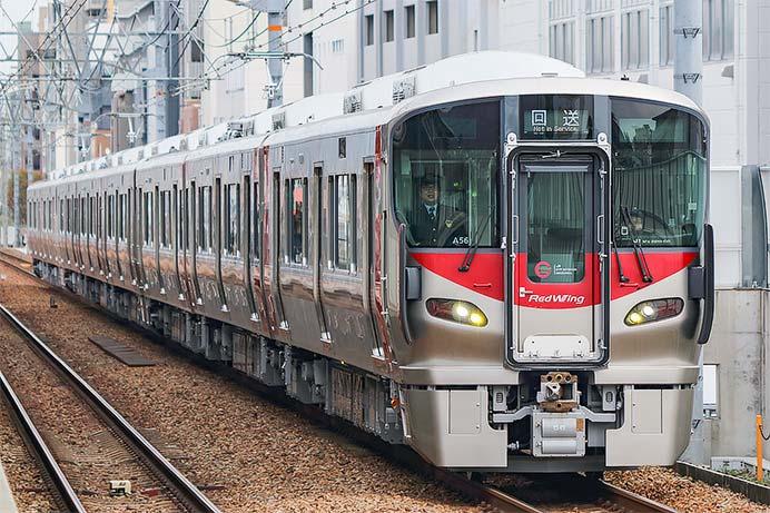 227系8両が広島へ