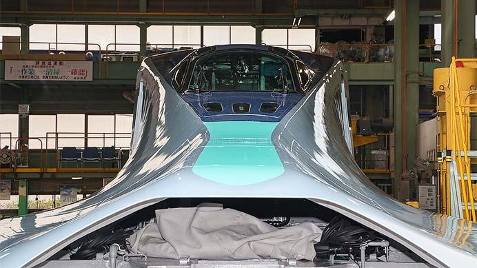 JR東日本E956形「ALFA-X」の構体が公開される