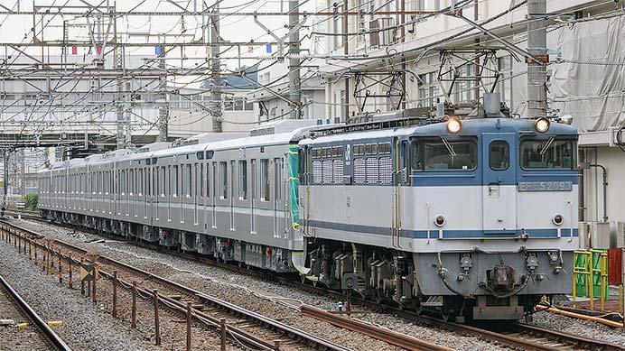 東京メトロ13000系第29編成が甲種輸送される