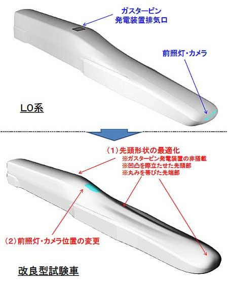 JR東海,超電導リニアの改良形試験車を製作