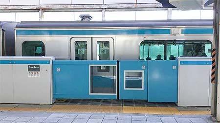 東神奈川駅で12月27日からホームドアの使用を開始