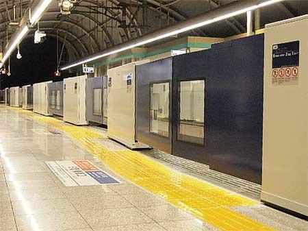 京成,2019年2月から空港第2ビル駅でホームドアの使用を順次開始