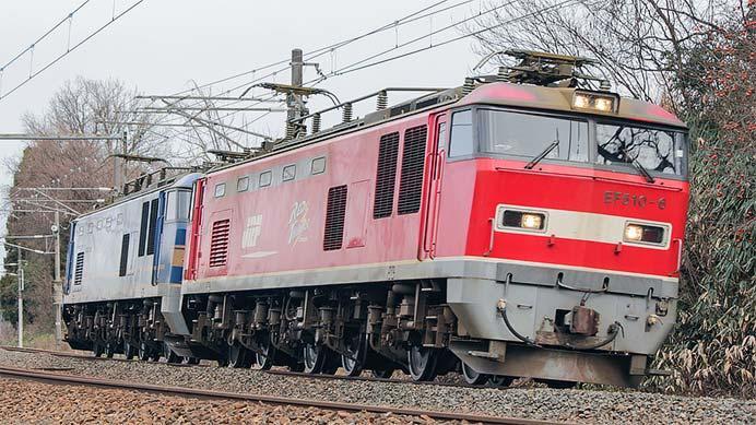 EF510-6+EF510-503の重連単機運転