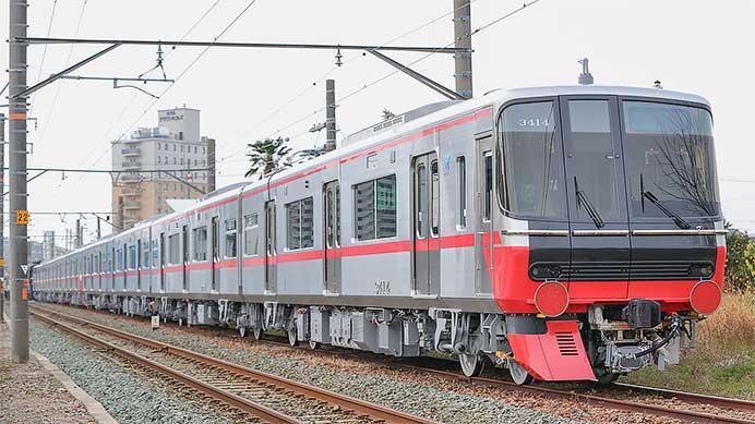名古屋鉄道3300系が甲種輸送される