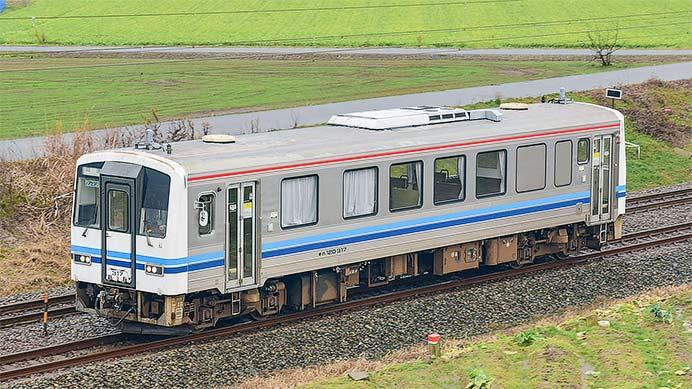 浜田鉄道部のキハ120 317が北陸広域鉄道部へ