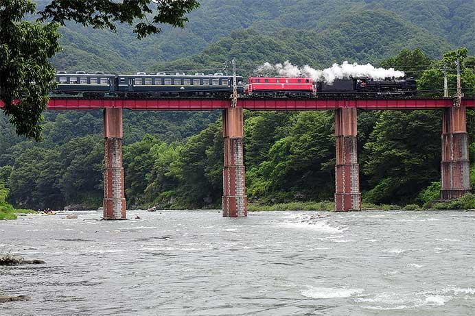 蒸電運転のイメージ(2011年7月運転時)