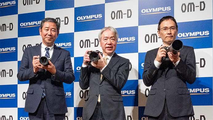 オリンパス,プロフェッショナルモデル「OM-D E-M1X」を発表